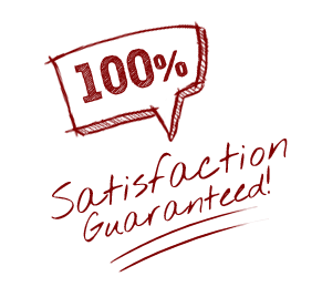 100% satisfaction guaranteed on all roof restorations